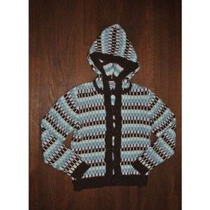 Gymboree Park City Luxe Toggle Hooded Sweater